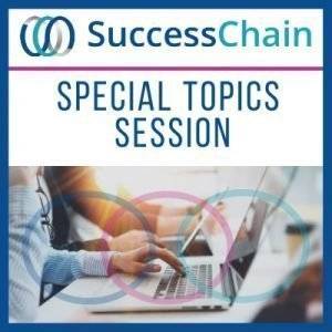 Success Chain - Special Topics Live Session